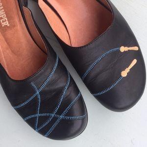 Camper slip-on slides - 37 - black shoes 7